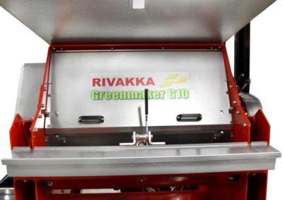 Greenmaker G10 Työkalulaatikko, Valssien säätöpuoli näkymä
